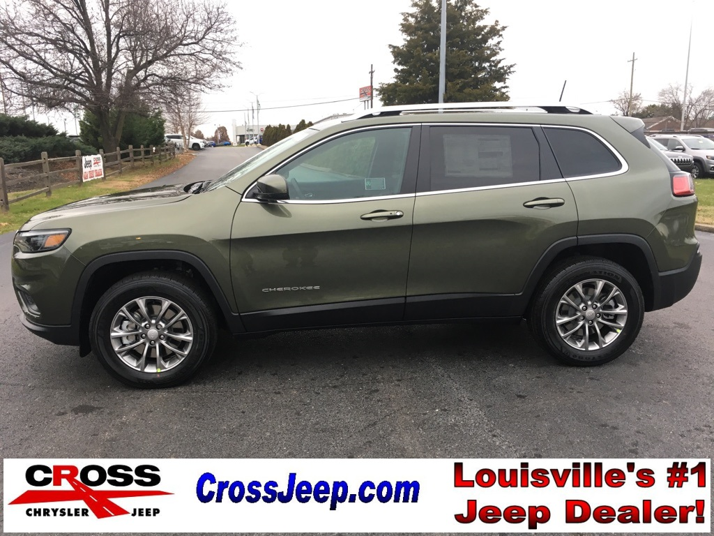 New 2019 Jeep Cherokee Latitude Plus Sport Utility In Louisville