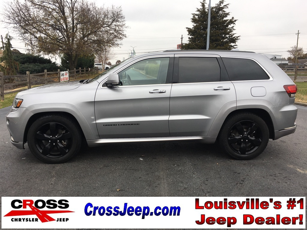 pre owned 2016 jeep grand cherokee high altitude 4d sport. Black Bedroom Furniture Sets. Home Design Ideas