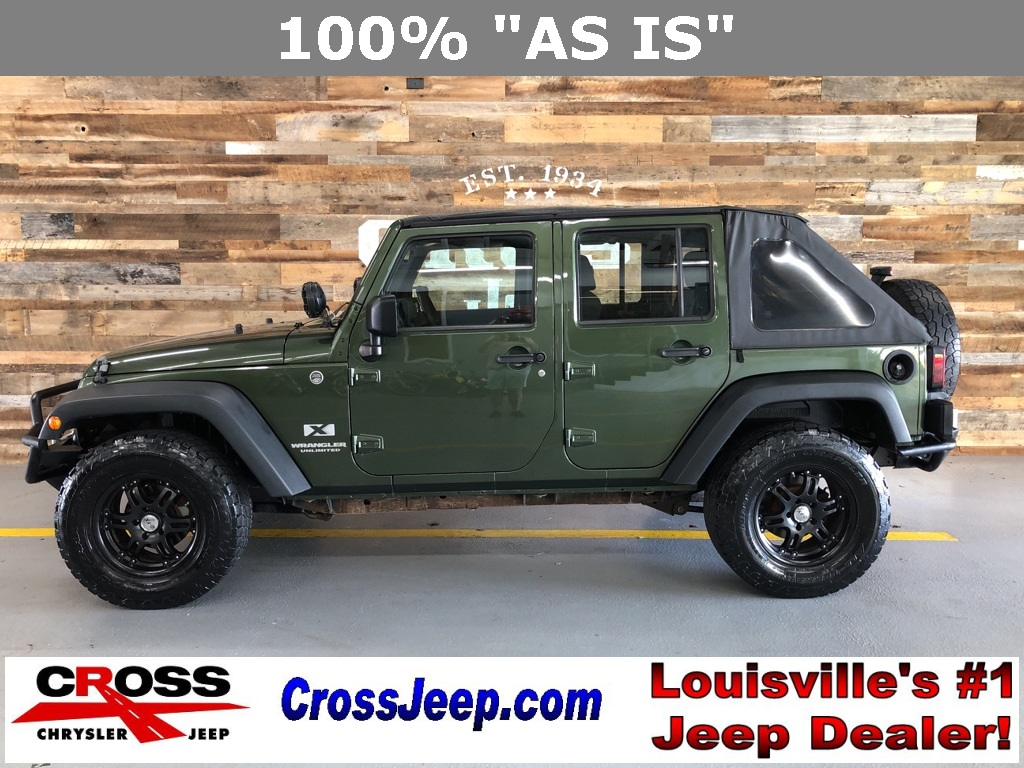 Pre-Owned 2009 Jeep Wrangler Unlimited X