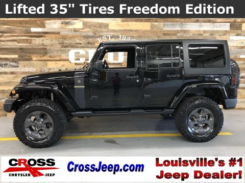 2017 Jeep Wrangler Unlimited Freedom Edition