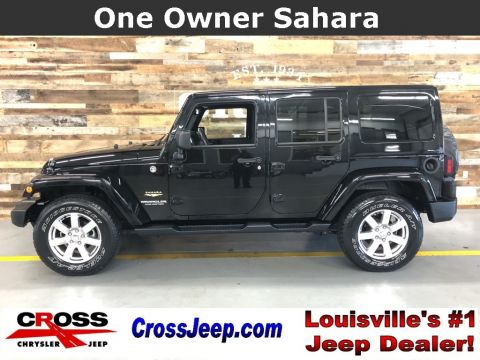 Pre-Owned 2015 Jeep Wrangler Unlimited Sahara With Navigation & 4WD