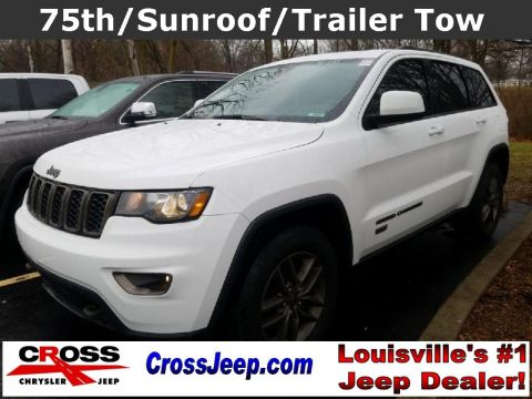 Pre-Owned 2016 Jeep Grand Cherokee 75th Anniversary Edition 4WD