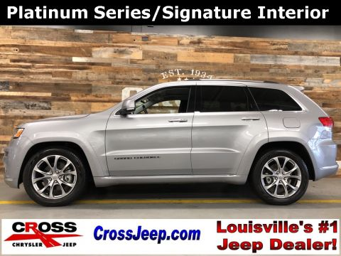 Pre-Owned 2019 Jeep Grand Cherokee Summit With Navigation & 4WD