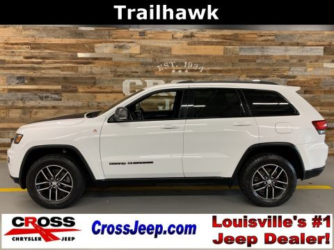 Pre-Owned 2017 Jeep Grand Cherokee Trailhawk With Navigation & 4WD