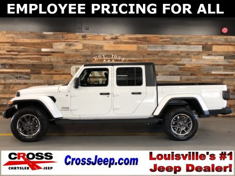 New 2020 JEEP Gladiator Overland With Navigation