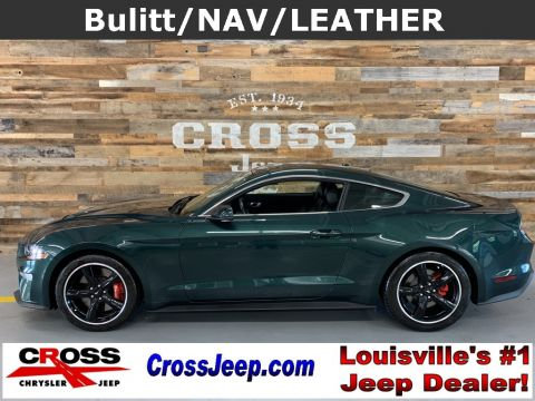 Pre-Owned 2019 Ford Mustang Bullitt With Navigation