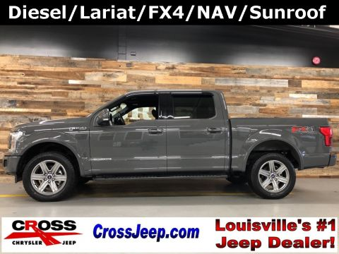 Pre-Owned 2018 Ford F-150 Lariat With Navigation & 4WD