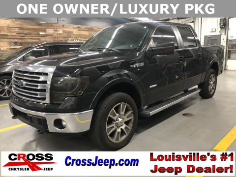 Pre-Owned 2014 Ford F-150 Lariat With Navigation & 4WD