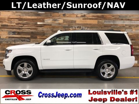 Pre-Owned 2017 Chevrolet Tahoe LT With Navigation & 4WD