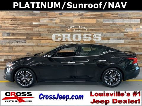 Pre-Owned 2017 Nissan Maxima Platinum With Navigation