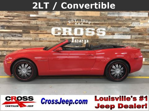 Pre-Owned 2013 Chevrolet Camaro 2LT RWD 2D Convertible