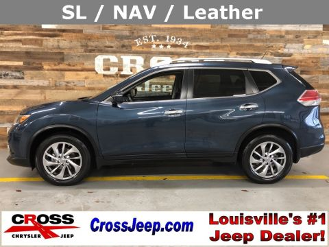 Pre-Owned 2015 Nissan Rogue SL With Navigation