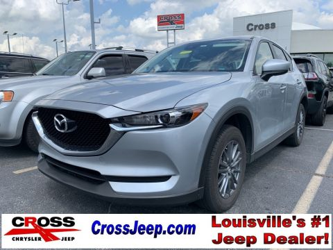 Pre-Owned 2017 Mazda CX-5 Touring With Navigation