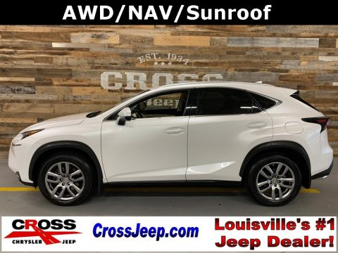 Pre-Owned 2016 Lexus NX 200t With Navigation & AWD