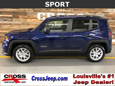 New 2019 JEEP Renegade Sport FWD Sport Utility